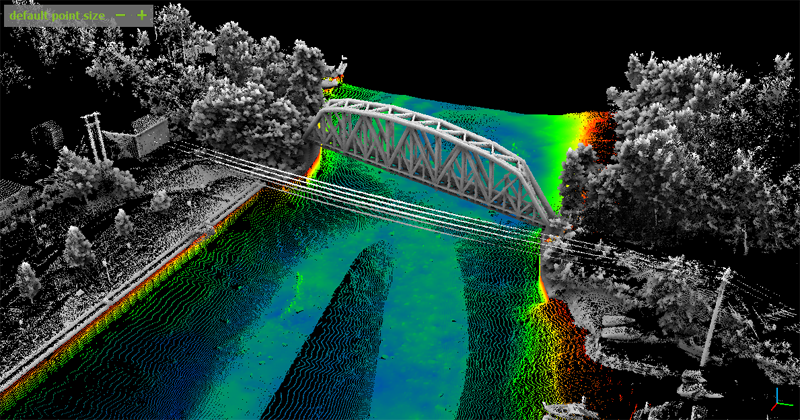 Moble Mapping-Railroad Bridge Over Oneida River