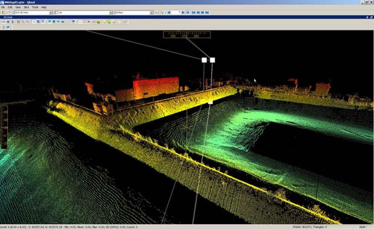 Point Cloud Processing - Data Management