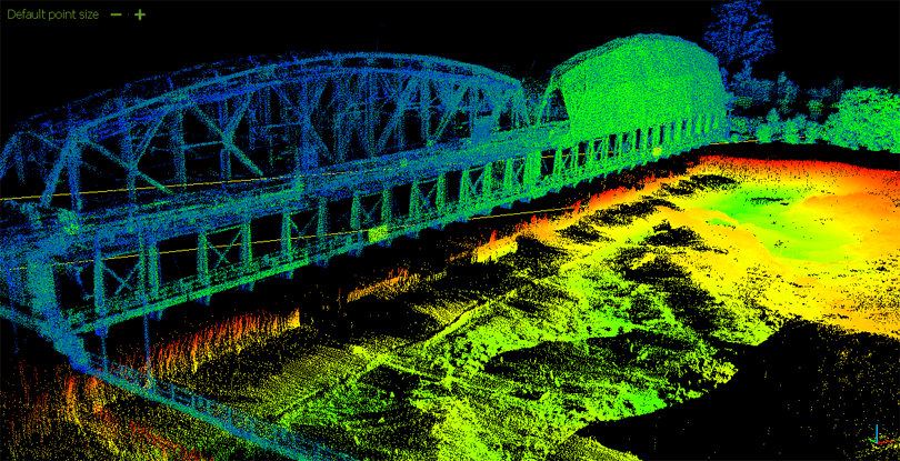 point cloud processing CaptureMD11DS1